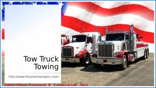 Tow Truck Towing.ppt