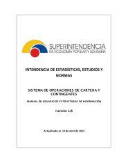 Manual Tecnico Operaciones de Cartera versioón 1.0 hasta el 09Feb2016.pdf